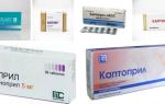 Таблетки от повышенного давления Каптоприл: инструкция по применению и состав препарата