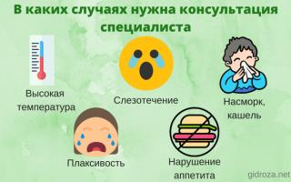 Самые распространенные случаи холодного пота у ребенка