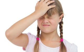 Повышенное внутричерепное давление у ребенка 3 лет: причины и лечение патологии