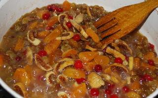 Сушеные фрукты: вред и польза