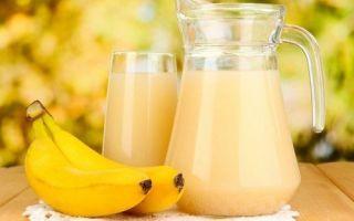 Рецепт средства от кашля с бананом