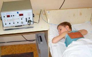 УВЧ при кашле у ребенка
