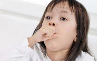 У ребенка долго сухой кашель: причины