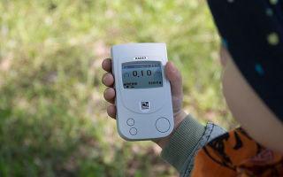 Измерение уровня облучения радиацией