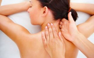 Первая помощь при боли в шее