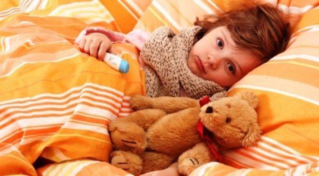 Кашель при орви у ребенка
