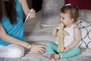 На что может быть температура у ребенка без соплей и кашля