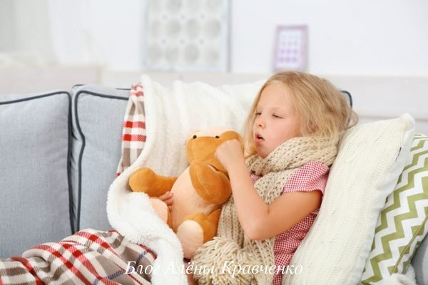 У ребенка рвота с кашлем