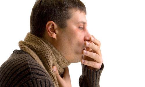 При дыхании хрипы и кашель