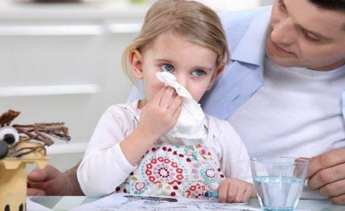 Кашель сопли понос у ребенка