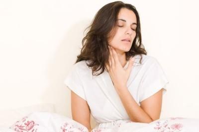 Болит горло и кашель сильный