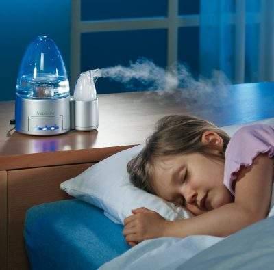 Начинается сухой кашель у ребенка