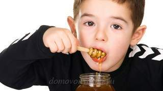 Мед с маслом от кашля