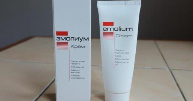 Эмолиум триактивный крем при атопическом дерматите