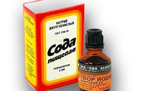 Сода для ингаляции от кашля