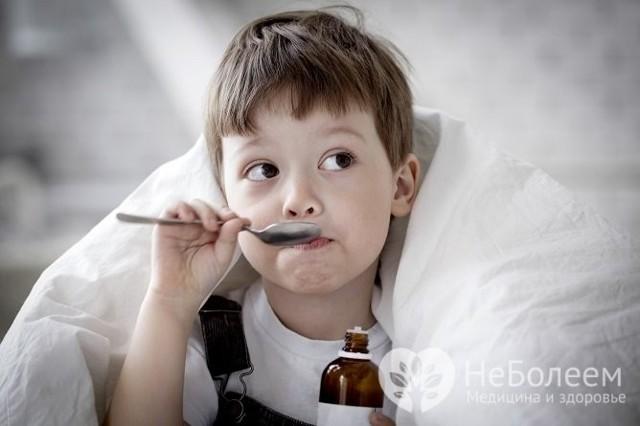 У ребенка годовалого кашель мокрый