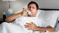 При смене положения тела кашель