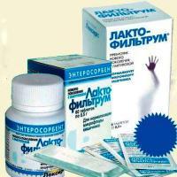 Лактофильтрум при атопическом дерматите у детей