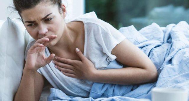 Приступ кашля ночью что делать