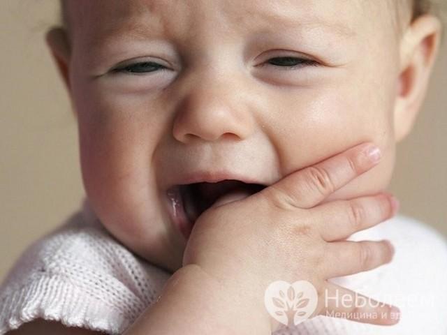 Сухой кашель при прорезывании зубов
