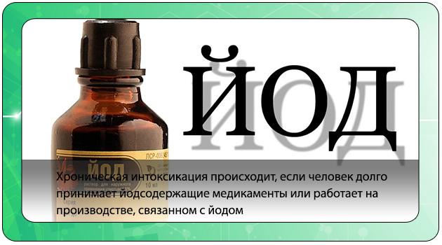 Разновидности йодных препаратов, которыми можно отравиться