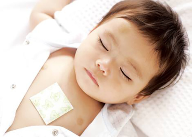 Китайский пластырь детский от кашля