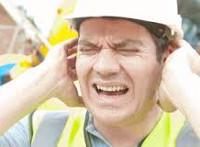 Повреждение слуха в результате действия повышенного уровня звукового давления
