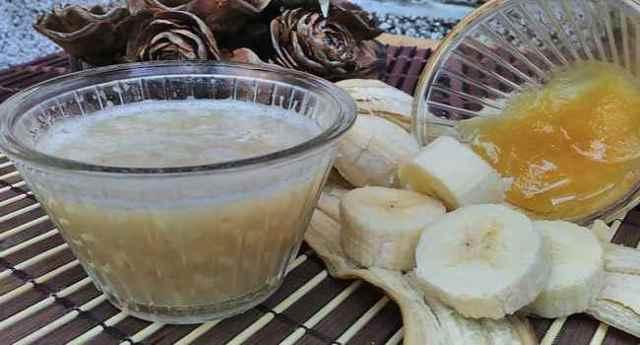 Бананы мед вода от кашля