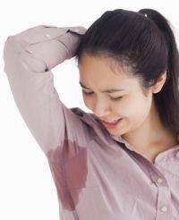 Аптечные средства от потливости в подмышечных впадинах