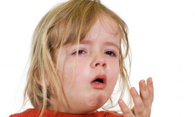 Ребенка во время кашля рвет