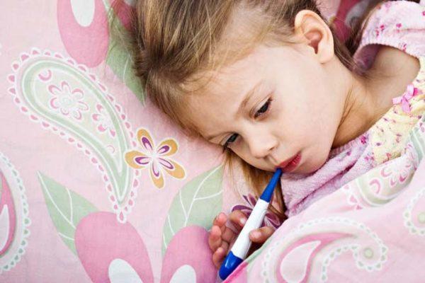 Что за вирус у детей высокая температура не соплей не кашля?