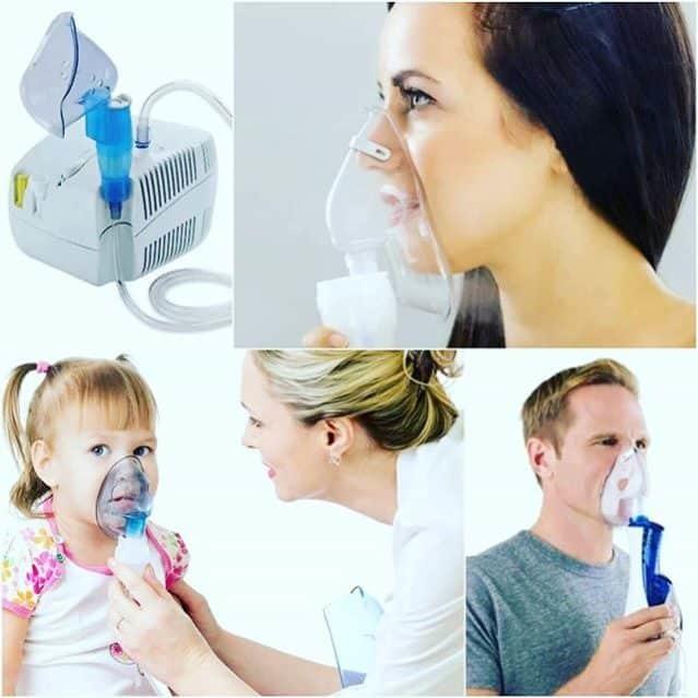 Физраствор для небулайзера при кашле