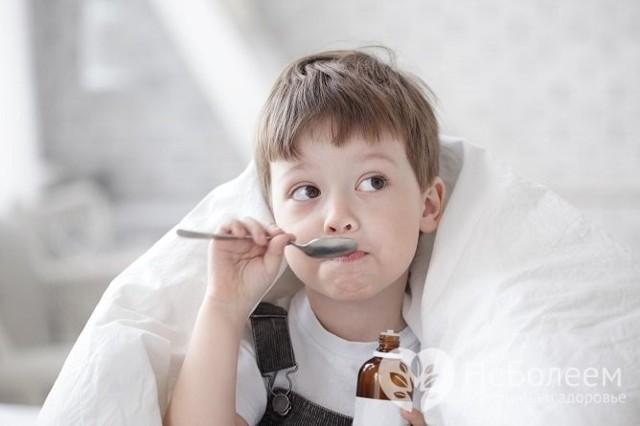 Кашель сухой ребенку 4 года