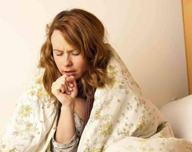 Дерет в горле сухой кашель