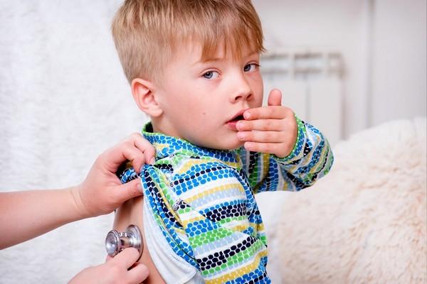 Ребенку 4 года кашель сухой