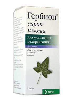 Лекарство от кашля 3 года