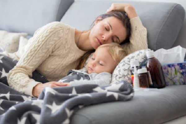 Сухой приступами кашель у ребенка
