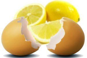 Порошок из яичной скорлупы с лимонным соком при атопическом дерматите