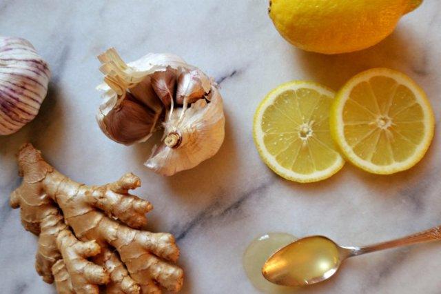Напиток из имбиря лимона чеснока и меда рецепт для иммунитета
