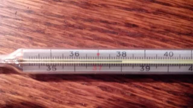 Кашель сухой и температура 38