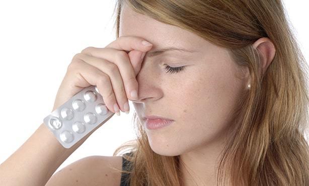 Если повышенное давление и болит голова что выпить от боли