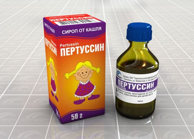 Детский сироп при мокром кашле