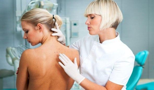 Аллергический дерматит на лбу возле роста волос