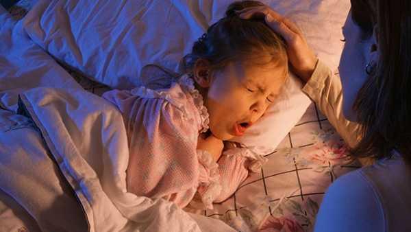 У ребенка кашель только лежа