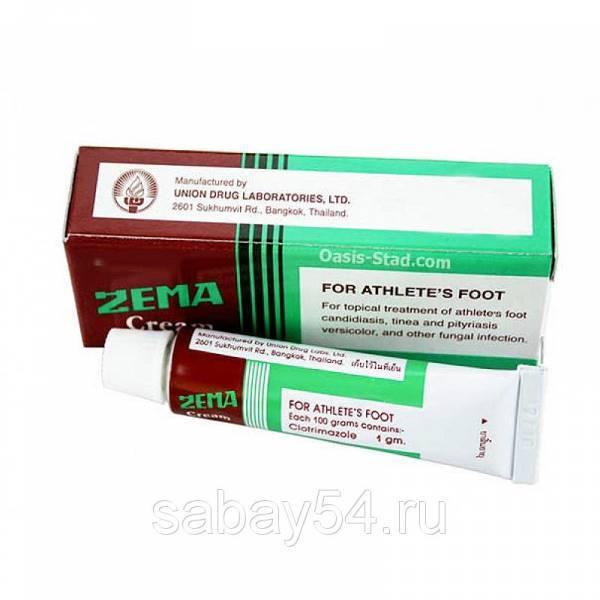 zema cream мазь от грибка ступней ног и дерматитов