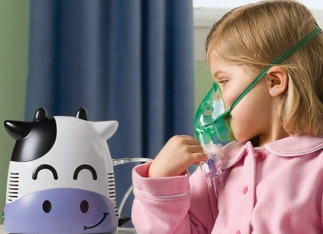 Ингаляции от кашля небулайзером детям