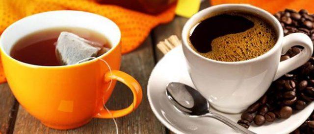 Что лучше пить при повышенном давлении чай или кофе?