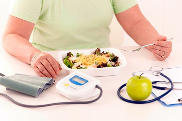 Диета для пожилых при диабете 2 типа и повышенном давлении