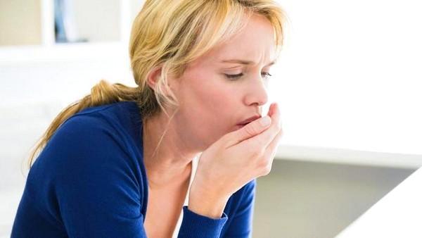 Сухой кашель горло не болит