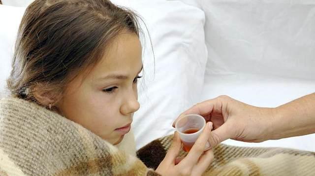 Календула от кашля для детей
